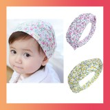 Infant Floral Headband-Set of 3