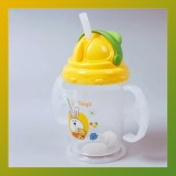 Baby Kids Straw Cup Drinking Bottle