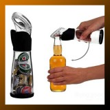 Bottle Opener With Cap Holder