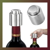 Creative Zinc Alloy Bottle Password Lock Wine Stopper