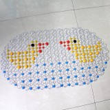 Bathroom Mat Shower Massage PVC Bath Mat Cartoon Non-Slip