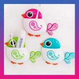 Bird Suction Cup Toothbrush toothpaste Holder
