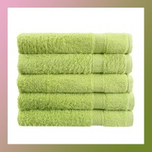 80x50cm Soft Cotton Bath Beach Towel Super Absorbent GREEN