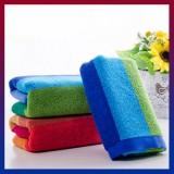 75x35cm British Style Soft Absorbent Cotton Bath Beach Towel