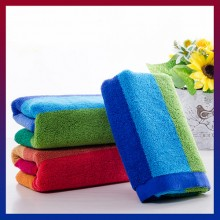 75x35cm British Style Soft Absorbent Cotton Bath Beach Towel