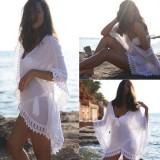 Summer Swimsuit Kaftan Sexy Crochet