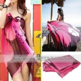 Lady Charming Summer Beach Wrap Swimwear CoverUp Sarong Scarf