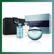 Bulgari-AQUA MARINE- 4 Pc. Gift Set - Men