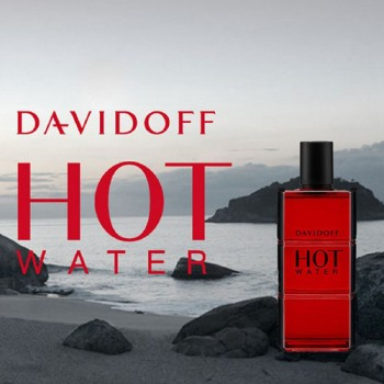 Davidoff - HOT WATER- 110 ml EDT Spray- Men