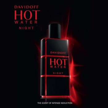 Davidoff - HOT WATER NIGHT - 110ml EDT Spray- Men