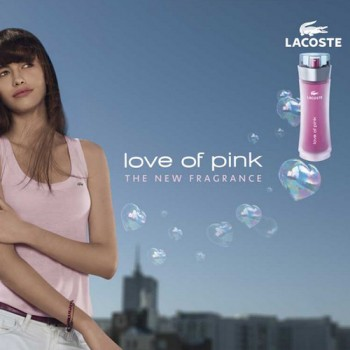Lacoste-LOVE OF PINK-90 ml EDT Spray- Women