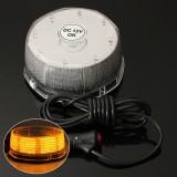 Amber LED Beacon Magnetic Flashing Warning Strobe Light