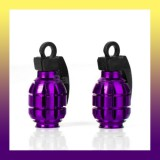 All New Dust Cap -Air Valve Dust Cover  -Set of 2-PURPLE