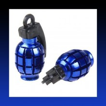 All New Dust Cap -Air Valve Dust Cover  -Set of 2-BLUE