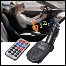 Wireless FM Transmitter Car MP3 Music Player