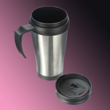 Stainless Steel Thermos ABS Mug