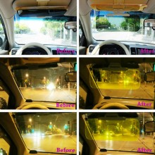 Day and Night Vision Driving Mirror Sun Visors
