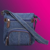 Retro Small Denim Shoulder Bag