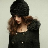 Real Rabbit Fur Knitted Hat
