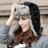 Earflap Russian Trooper Hat-Women