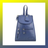 Leather - FASHION BACKPACK-Women-BLUE