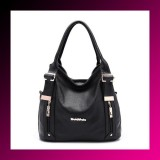 Leather Handbag Ladies Cowhide Vintage Shoulder Bag