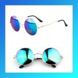 Hot Fashion Vintage Round Frame Sunglasses Metal Arrow