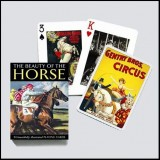 Playing Cards-BEAUTY OF THE HORSE-Single Deck