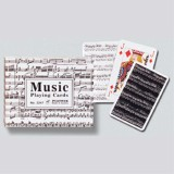 Playing Cards-DELUXE-MUSIC-Double Deck