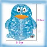 3D Crystal Puzzle-Model DIY-PENGUIN-IQ Toy