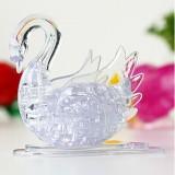 3D Crystal Puzzle-DIY Swan