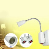 E27 Plug Lamp Base LED Light Bulb Socket