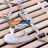 Chain Couple Keyring