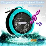 Waterproof Shockproof Dustproof Bluetooth Shower Speaker