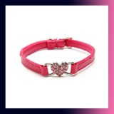 Bling Crystal Rhinestone Pet Collar-PINK