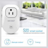WiWo-S20 Wi-Fi Smart Remote Control Timing Socket Plug