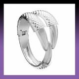 Silver Eagle Claw Bracelet