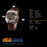 Automatic Skeleton Men's Mechanical Watch