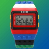 LCD Digital Adjustable Silicone-Kids' Watch