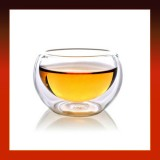 50ML Drinking Heat Resistant Double-Wall Glass