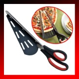 Stainless Steel Pizza Scissors Shovel 31CM
