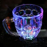 6 LED Plastic Handheld Drinking Beer Glass