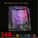 Flashing Ice Cube LED light-Set of 24