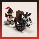 Bat Mobile Handcart Knight Castle Series Blocks