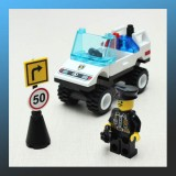 Barricade Roadblock Command Car