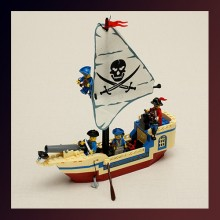 Pearl Corsair Pirate Series Blocks Educational