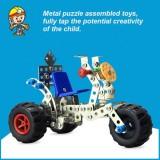 DIY Alloy Assembling Model Toy
