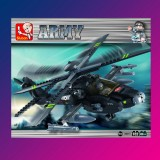 Apache Helicopter 293 PCS