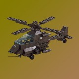 Apache Helicopter 158 PCS