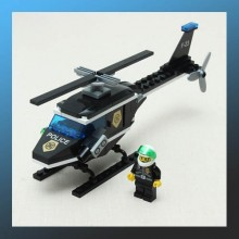 Helicopter Investigation Building Blocks